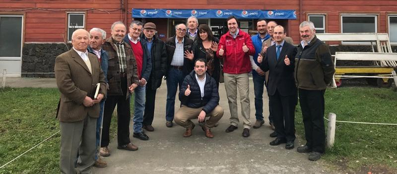 División de Asociatividad en visita a cooperativa de la región de La Araucanía