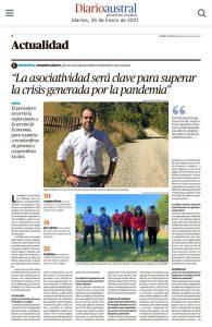 Entrevista en el Diario Austral de Valdivia